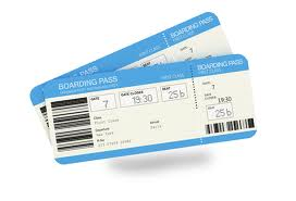 new flight simulator boarding pass